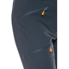 Mammut Eisfeld Advanced SO lange broek Dames blauw